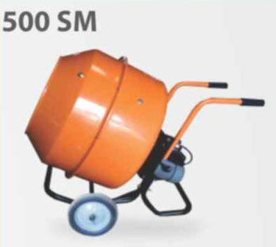 500 SM Portable Type Concrete Mixer