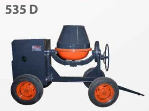 535 D Concrete Mixer