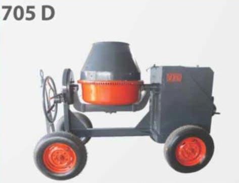 705 D Concrete Mixer