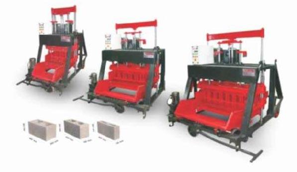 860 Automatic Concrete Block Making Machine