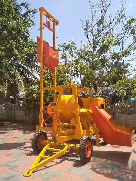 Concrete Mixer Machine with Lift (VPG718)