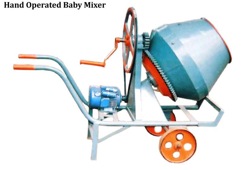 Hand Operated Baby Mixer