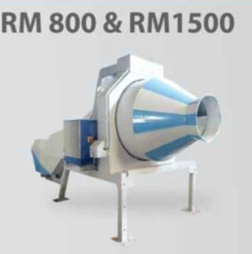RM 800 and RM 1500 Portable Type Concrete Mixer