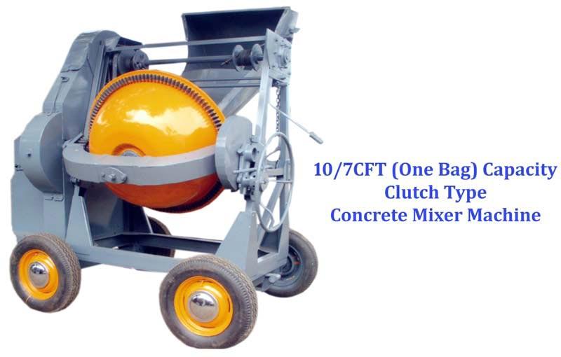 Rope Type Concrete Mixer Machine