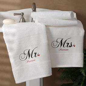 Hand Embroidered Towel Set
