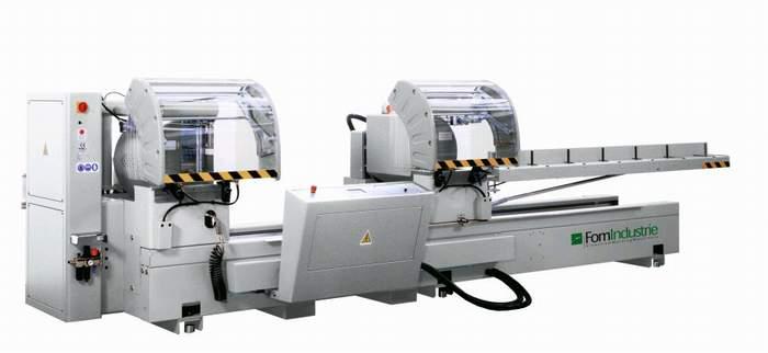 BLITZ 50 theta Double head sawing machine