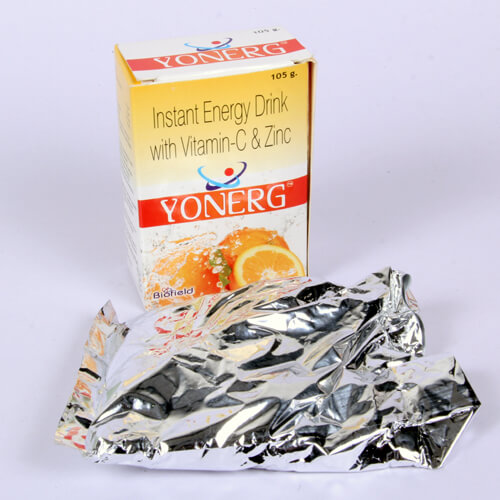 Instant Energy Drink With VitaminC 50mg, Zinc32.5mg Energy Drink