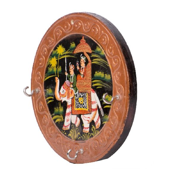 Hand Painted Wooden Key Holder