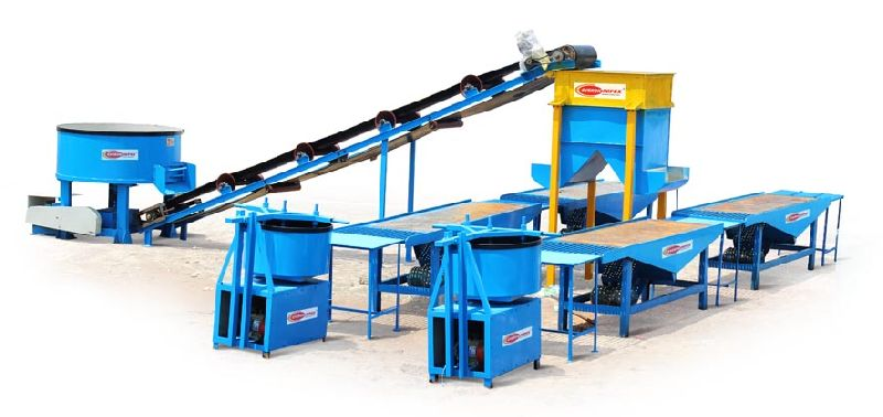 Paver Concrete Block Making Machine
