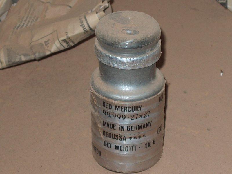 Silver Mercury, Red Mercury, CAS 7439-97-6 (33332)
