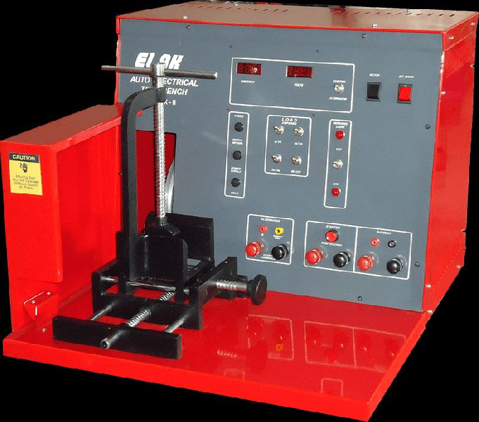 AUTO ELECTRICAL TEST BENCH MARK-II Manufacturer in ...