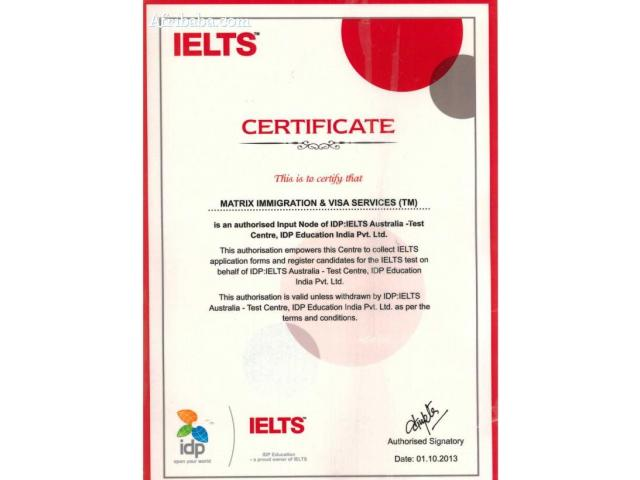 IELTS Certificate services
