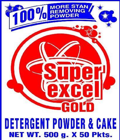 Super Excel Gold Detergent Powder & Cake