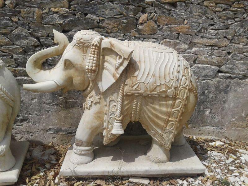 Marble Elephant Statues Manufacturer In Jodhpur Rajasthan