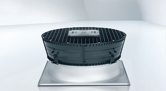 AxiTop diffuser for axial fans
