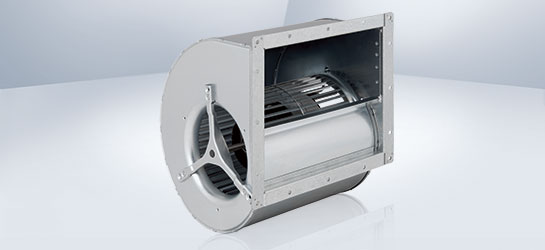 Centrifugal fans with forward curved blades