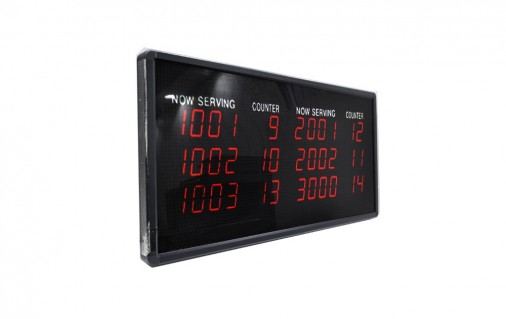 Counter LED 3 Lines Display