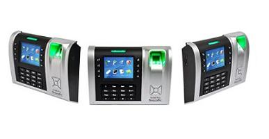 hi-tech fingerprint time attendance device