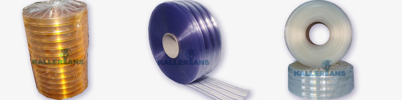 Double Ribbed Pvc Strip Curtains