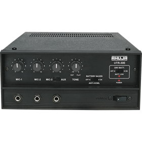 two ZONE PA MIXER AMPLIFIERS Manufacturer in Delhi India by AHUJA