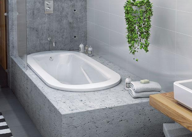 steel bathtub