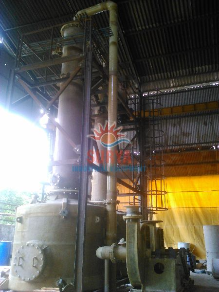 Fume scrubbing / Extraction system