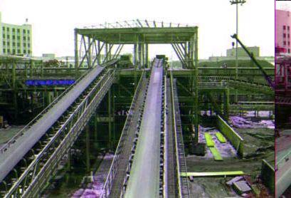 Trough Type Belt Conveyor System