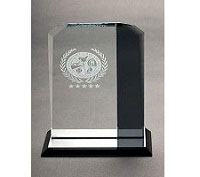 Glass Trophy Manufacturer in Palakkad Kerala India by Glass