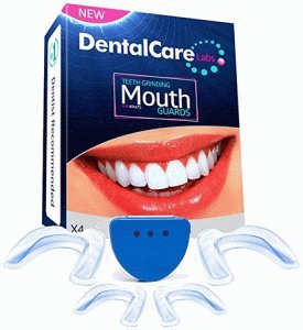 DentalCare Labs Teeth Grinding Custom Fit BPA-Free Mouldable Dental Night Guards in 2 Sizes (Pack of
