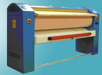 Drying flatwork ironer