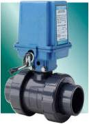 Ball Valves with Low Cost Electric Actuator