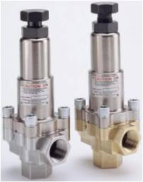 SEALLESS PRESSURE REGULATING VALVES