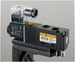 Signle acting solenoid valve