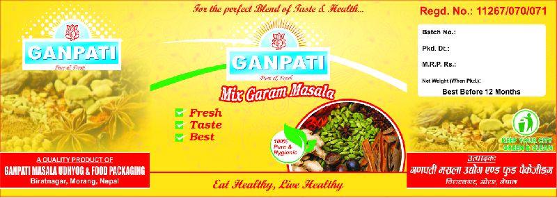 Mix garam masala (100gms box packing) Manufacturer in Nepal by ...