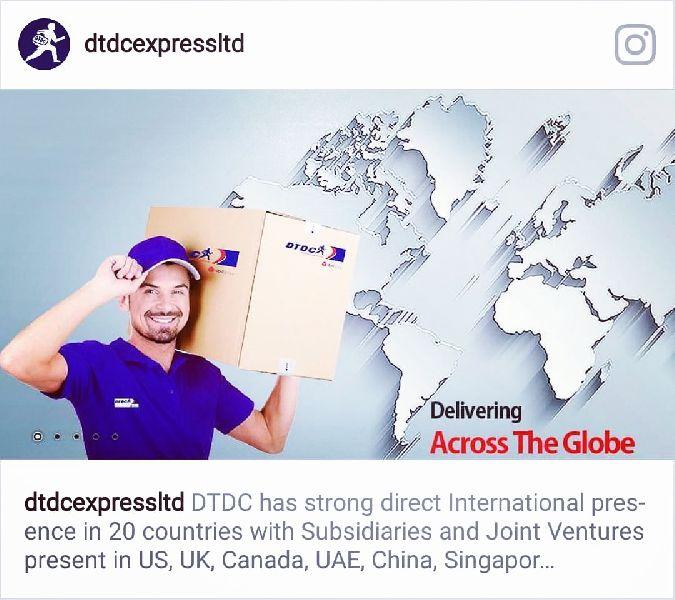 Services International Parcel Service From Mumbai Maharashtra India By Sagar Enterprises Dtdc Express Courier Cargo Id 4286755
