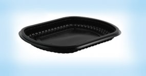 Microwave Black Base Containers