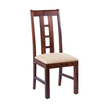 Restaurant Unique Wooden Dining Chair Upholstered Seat