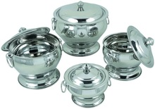 Storable Designers Stainless Steel Bowl