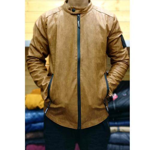 Full Sleeve Mens Pure Leather Jacket
