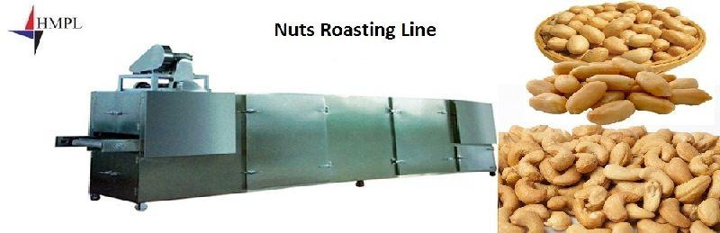 Nuts Roasting Line Machine