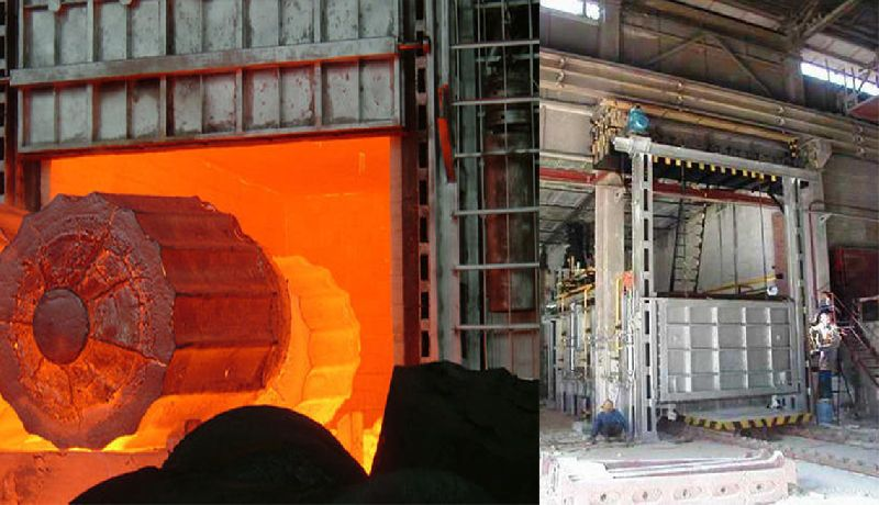 Bogie Hearth Heat Treatment Furnace