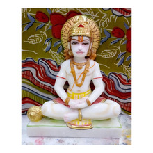 Hanuman Statue with Painting