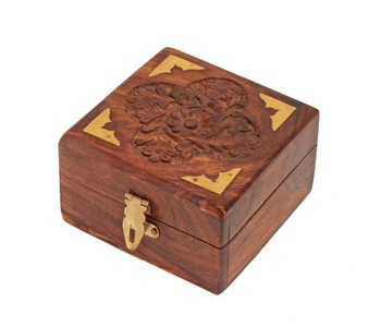 Hand Carved Wooden Decorative
