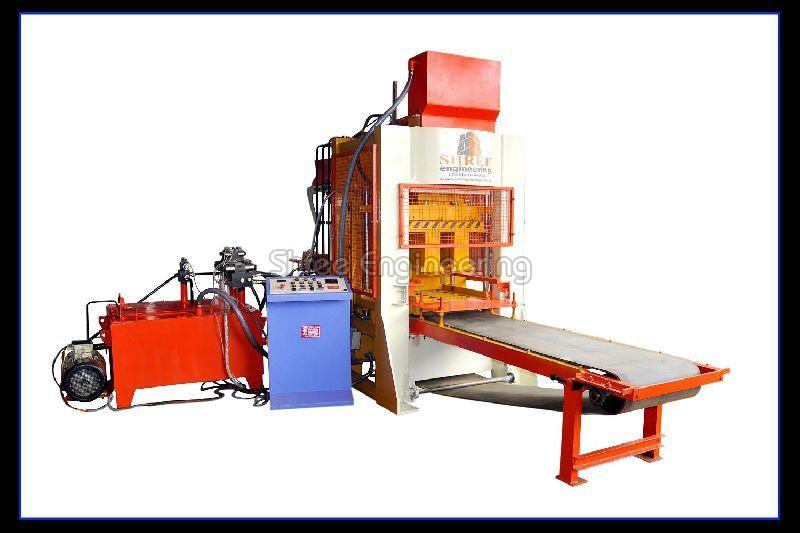 Fly Ash Brick Making Machine (10 Bricks Belt Type)