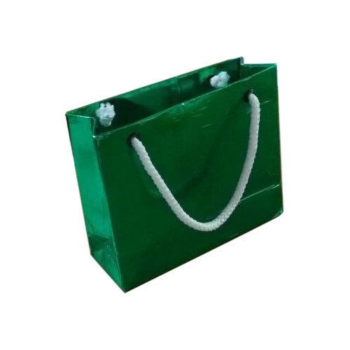 Plain Eco Friendly Green Paper Bag