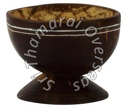Coconut Shell Ice Cream Bowl