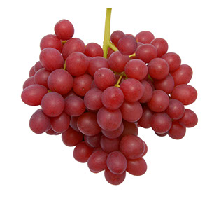 Fresh Crimson Grapes
