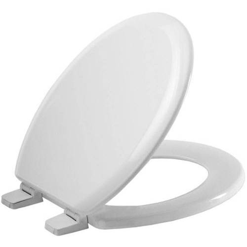 Solid Top Toilet Seat Cover