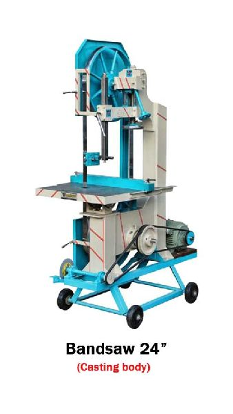 24 Inch Casting Body Bandsaw Machine Without Loose Jam Pulley System