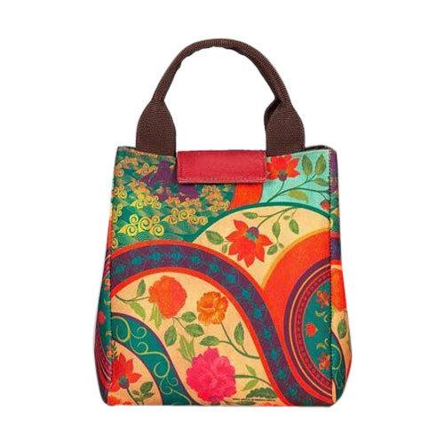 Embroidered Cotton Handbag